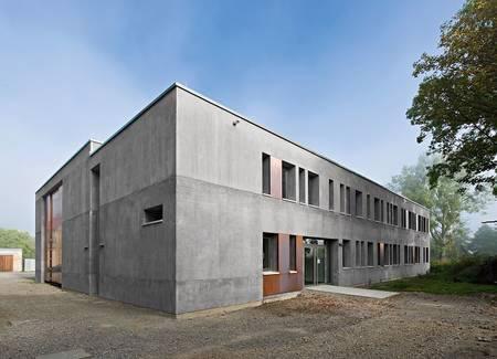 Ein kubus f r die kunst - Architektur kubus ...