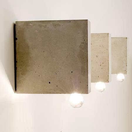 beton und beton lina betonleuchten von komat. Black Bedroom Furniture Sets. Home Design Ideas
