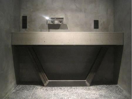 betonwaschbecken wohnwerte aus beton. Black Bedroom Furniture Sets. Home Design Ideas