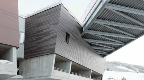 Fassade Architektur beton erobert die alpine architektur beton org