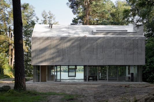 wochenendhaus in bad saarow profilierte geb udeh lle aus wu beton objekte. Black Bedroom Furniture Sets. Home Design Ideas