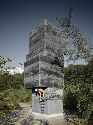 one man sauna in bochum kunstinstallation aus. Black Bedroom Furniture Sets. Home Design Ideas