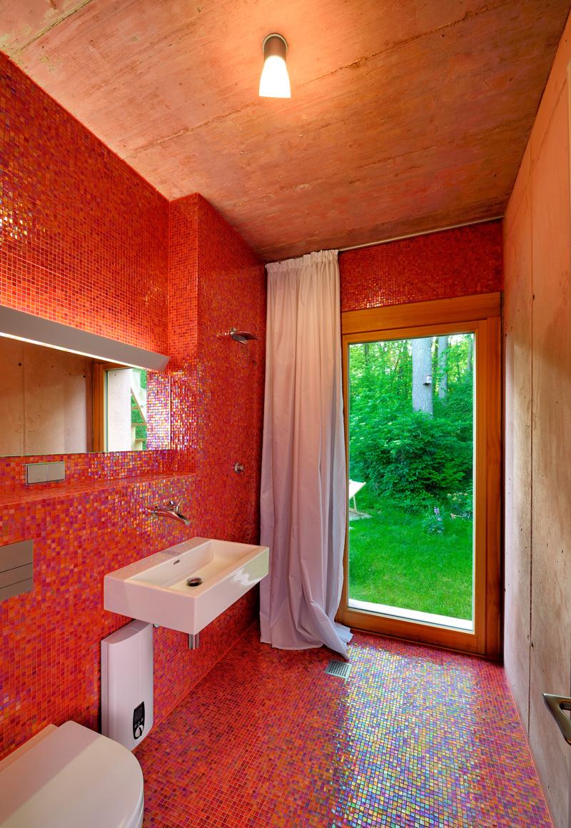 Atelier aus leichtbeton am ammersee scharfe kante - Ludwig badezimmer ...
