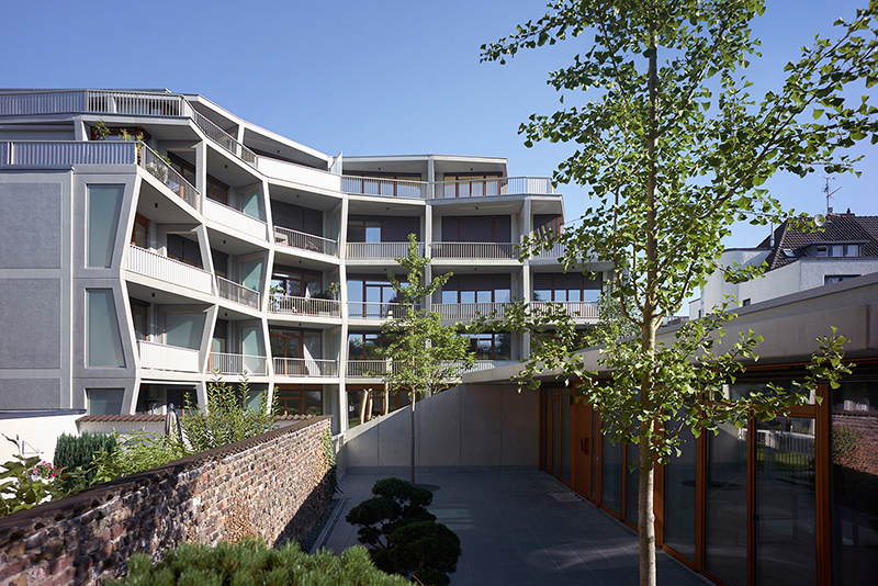 Arthron wohnhaus k ln betongelenk objekte - Landschaftsarchitekten koln ...