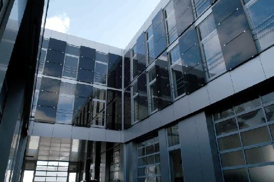 halle j des g terverkehrszentrums in ingolstadt. Black Bedroom Furniture Sets. Home Design Ideas