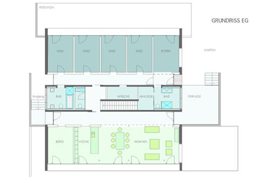 ein familienhaus in nagold mehrgenerationenhaus in sichtbeton objekte. Black Bedroom Furniture Sets. Home Design Ideas