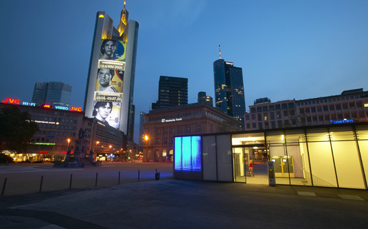 Parkhaus Goetheplatz Frankfurt