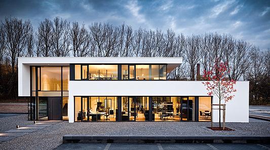 b rogeb ude in hagen betonbau im stil der klassischen moderne objekte. Black Bedroom Furniture Sets. Home Design Ideas