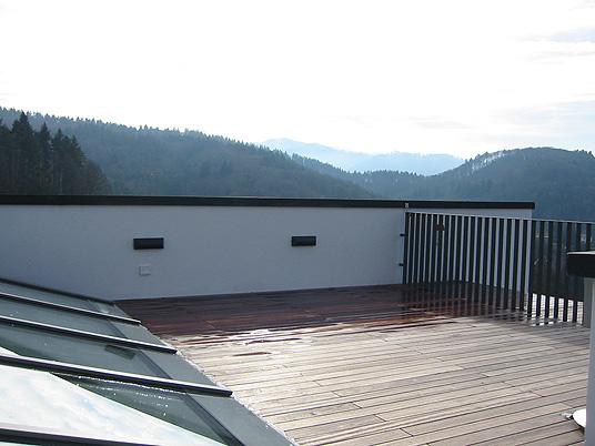 Stadtvilla in Freiburg - Sichtbeton im Wohnbereich - Objekte - Beton.org