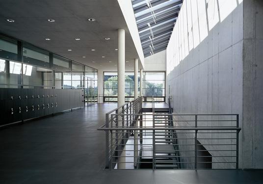 campus der fh k ln in gummersbach beton und glas. Black Bedroom Furniture Sets. Home Design Ideas