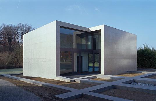 Findling In M Riken CH Skulpturales Einfamilienhaus In
