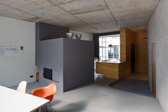 Haus FL in Berlin - Raumzonen aus Sichtbeton - Objekte - Beton.org