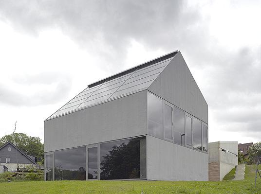 wohnhaus strunk wenzel in odenthal heidberg monolithische skulptur in beton objekte. Black Bedroom Furniture Sets. Home Design Ideas