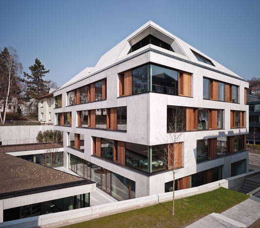 B rohaus blocher blocher partners in stuttgart for Neue architektur stuttgart