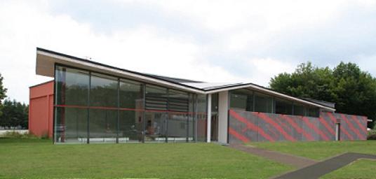 sanierung und anbau einer kasernen sporthalle in pfullendorf fassadenplatten in zebra optik. Black Bedroom Furniture Sets. Home Design Ideas