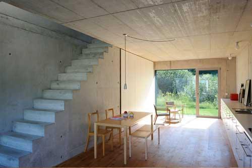 haus b hub in lautrach innen glatt au en gewellt. Black Bedroom Furniture Sets. Home Design Ideas