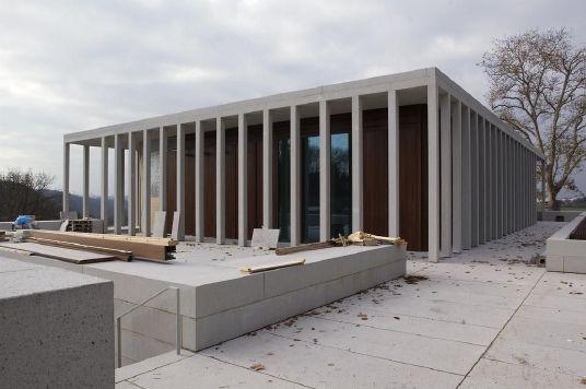 literaturmuseum der moderne in marbach klassische themen in zeitgen ssischer bautechnik. Black Bedroom Furniture Sets. Home Design Ideas