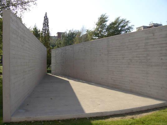 "geschichtspark ""ehemaliges zellengefängnis moabit"" in berlin, Hause und Garten"