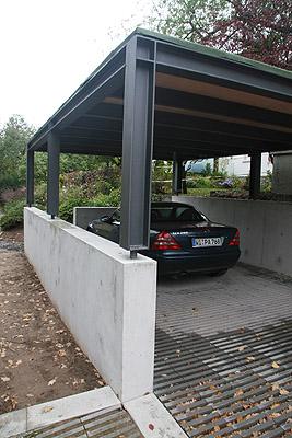 Neubau Doppelparker Und Carport In Wiesbaden Garage Und