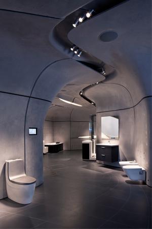 roca london gallery in london gb vom wasser inspiriert. Black Bedroom Furniture Sets. Home Design Ideas