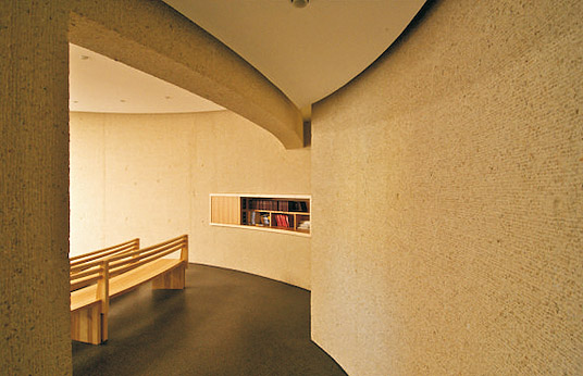 neubau einer kapelle in schw bisch gm nd raum der stille. Black Bedroom Furniture Sets. Home Design Ideas