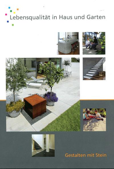 brosch re gestalten mit stein neu aufgelegt. Black Bedroom Furniture Sets. Home Design Ideas