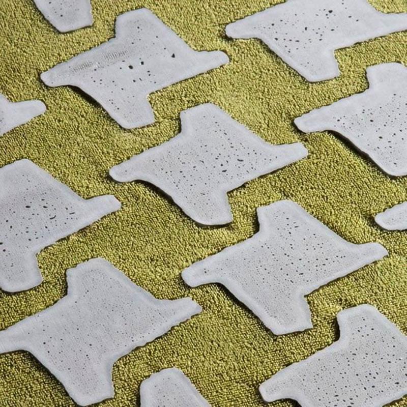 Feine Oberflächen aus Stoff und Beton - Beton.org