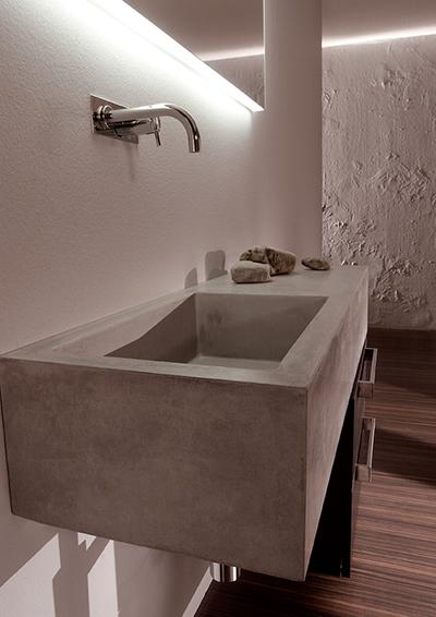 waschbecken aus beton. Black Bedroom Furniture Sets. Home Design Ideas